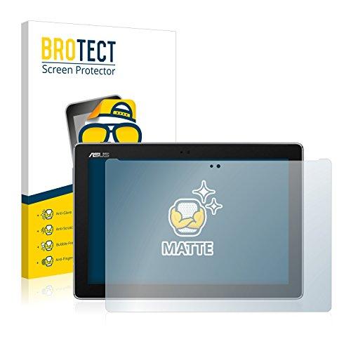 BROTECT Entspiegelungs-Schutzfolie kompatibel mit Asus ZenPad 10 Z301MFL (2 Stück) - Anti-Reflex, Matt