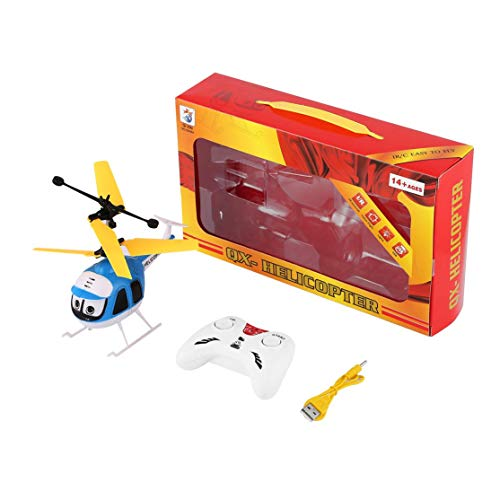 CHANNIKO-FR Induction Flying Toys Mini RC Helicopter Cartoon Remote Control  Drone Aircraft for Kid Plane Toys Floating Toys Boy Gift