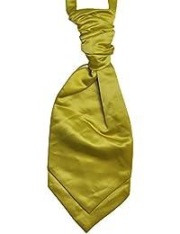 Mens and Boys Willow Yellow Wedding Cravat