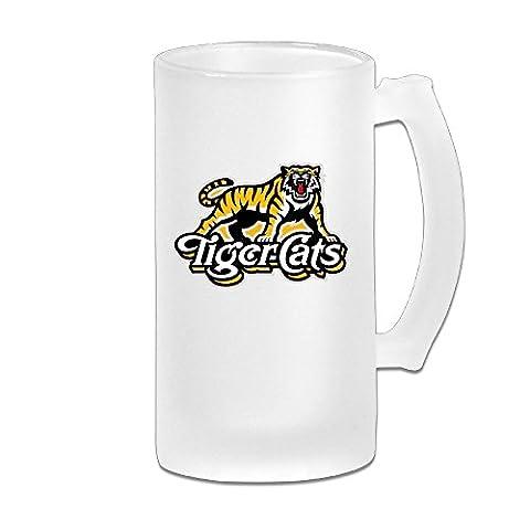 MeiSXue CFL Hamilton Tiger Cats Beer Mug