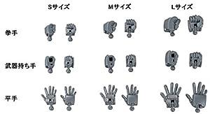 Bandai Hobby hgbc Jigen Construir Nudillos Dedo Redondo Gundam Build Fighters Kit de construcción (Escala 1/144)
