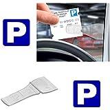 3 x Car Windscreen Parking Ticket Permit Pass Holder Clip (3 Pack)