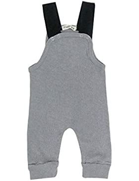Gugutogo All Seasons Unisex ärmellose Baby Gallus Hose Lässige Overall Outfits (Farbe: grau) (Größe: 70)