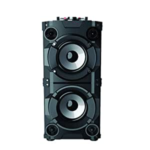 Jack Martin Helsinki Bluetooth Party Speaker System with Dual Woofers & Wireless Mic