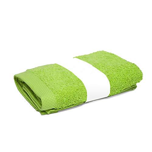 Linnea Toalla de Ducha de 70x 180cm Pure 550G/m2, Color Verde Pistacho