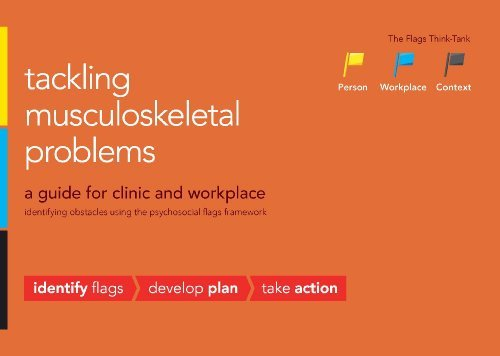 Tackling musculoskeletal problems: a guide for clinic and workplace, identifying obstacles using...