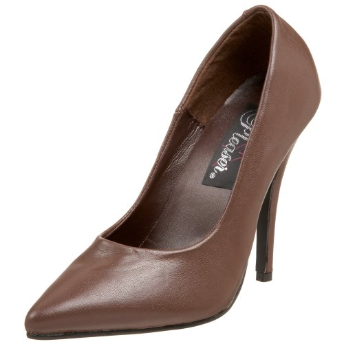 Pleaser Damen Seduce-420 Pumps, Marrón, 46 EU