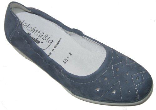 Semler N5015-040-075 Natascha donna scarpe pelle Navy
