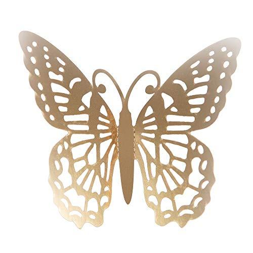 YWLINK Estilo Moderno 12 UNIDS PláStico Mariposa