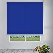 Comprar CORTINADECOR - Estor enrollable cortitrans para ventanas y puertas azul 2115