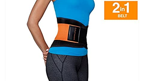 Back Support Belt for Men and Women 2 in 1