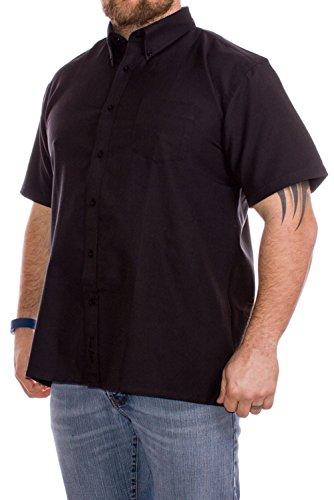 big-para-hombre-kam-camiseta-de-manga-corta-oxford-negro-2-x-l-3-x-l-4-x-l-5-x-l-6-x-l-7-x-l-8-x-l-n