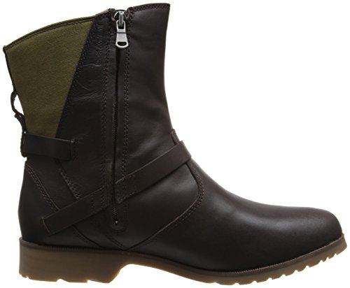 Teva De la Vina Low, Boots femme Marron (Brown/Green/Bngn)