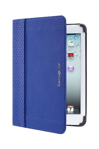 Samsonite Étui pour iPad Mini, Tab3 & Tab 4 Bleu iPad Mini 1, 2 & 3 (Portfolio) - Blue