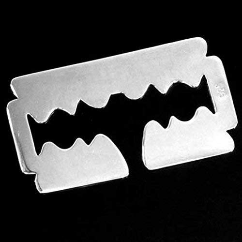 Ohrring Razorblade, Rasierklinge, 925er Sterling Silber