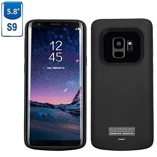 Mbuynow Akku Hülle für Samsung Galaxy S9 4700 mAh, Samsung Galaxy S9 Handy Hülle Samsung Galaxy S9 Zusatzakku Ultra dünnes Akku Case Hülle Akkucase Power Bank Cover für Samsung Galaxy S9