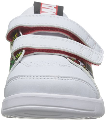 adidas Lk Marvel Cf I, Baskets Basses Mixte Bébé, 21 EU Blanc Cassé - Blanco (Ftwbla / Negbas / Rojint)