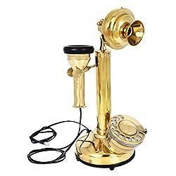 Artshai brass Antique style Candlestick brass Telephone