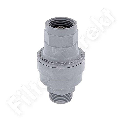 Fenteer Mini 1//4 /Ölabscheider Wasserabscheider mini f/ür Kompresor Lackierpistole l/ösemittelbest/ändig