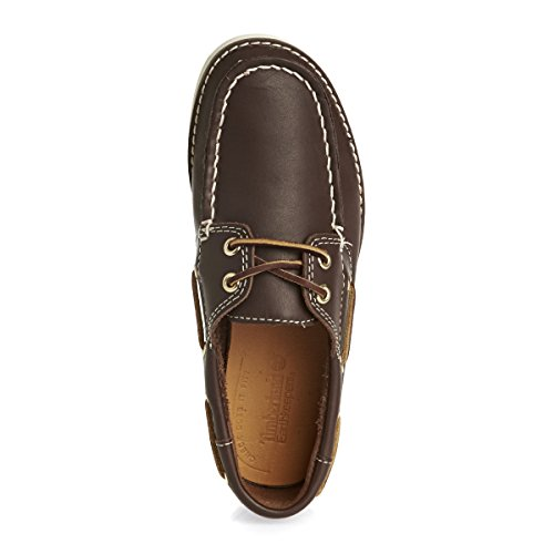 Timberland Seabury 2 I Boat Brown Youths Shoes - 3199A M Braun