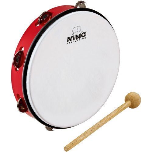 Nino Percussion NINO24R ABS Tamburin rot