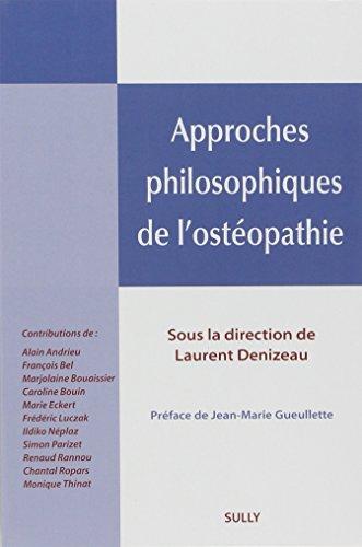 Approches philosophiques de l'ostopathie