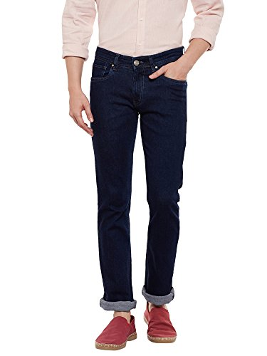 Numero Uno Mens Blue Slim Fit Low Rise Jeans (Morice Fit) (36)  available at amazon for Rs.931