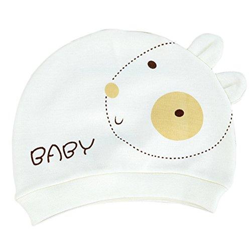 LAAT Neugeborene Baby Baumwollkappe Kinderstrickmütze Organic Infant Cap Baby Produkt für Klein Kinder -