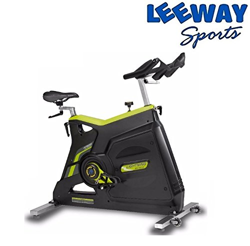 LEEWAY Spin Bike; turbuster SPIN BIKE LBS-01; Exercise Fitness Spin Bike; Exercise Cycle For Home Gym; 22kg Flywheel; Indoor Cycle; Trainer Fitness; Spin Bike (Imported)  available at amazon for Rs.49899