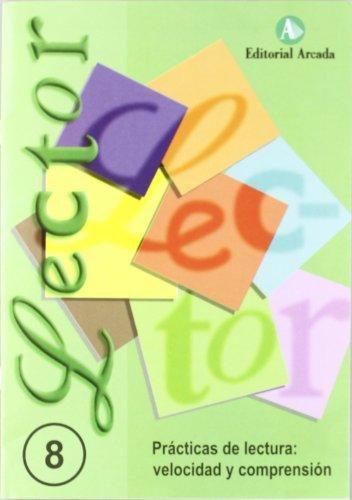 Lector prácticas de lecturañ velocidad y comprensión - cuaderno 8