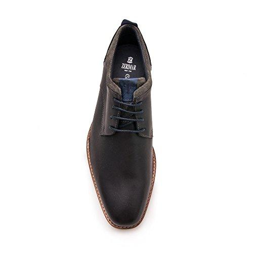 Zerimar Herren Lederschuh Eleganter Herrenschuhe Schuh für Den Mann Hochwertige Leder Schuhe Elegant mit Lederfutter 100% Leder