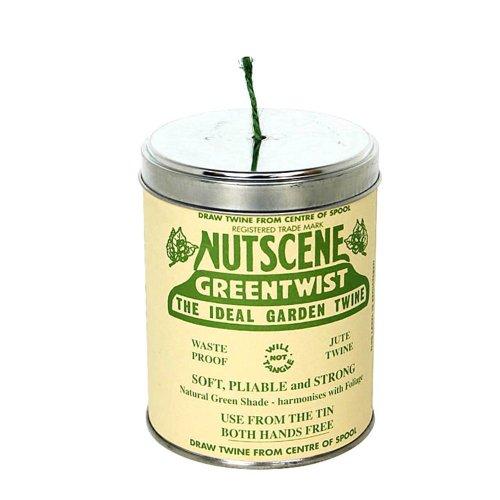 Bosmere Nutscene Dose mit Bindfaden 3-Ply grün -