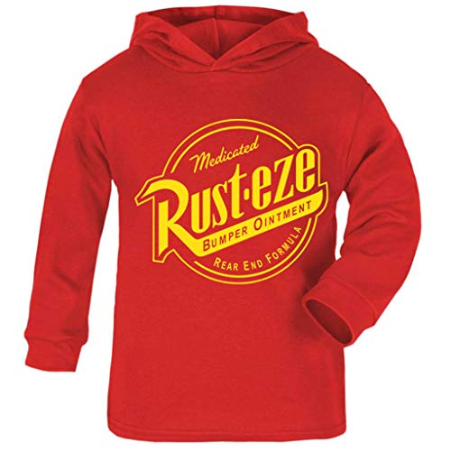 Cloud City 7 Cars Rust Eze Bumper Ointment Baby and Kids Hooded Sweatshirt