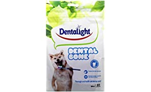 Gnawlers Dentalight Mini Dental Veg Bone Dog Treat, 540 g (60 Pieces)