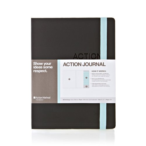 das-action-journal-von-action-method-blau