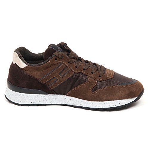 ... Hogan Uomo Brown Marrone Man Shoe Sneaker R261 E0620 qZ1rqHB ... 35cacf4640d
