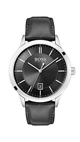 Hugo Boss Watch Orologio Analogico Quarzo Uomo con Cinturino in Pelle...
