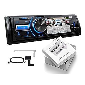 JVC-KD-X561DBT-1-DIN-DAB-Media-Receiver-mit-Farbdisplay-fr-Rckfahrkamera-inklusive-DAB-Antenne-fr-Opel-Astra-H-2004-2010