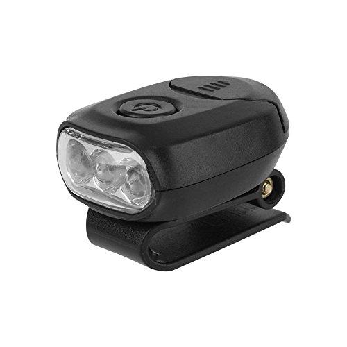 Linterna Clip Sombrero Mini LED Linterna Frontal Gorras