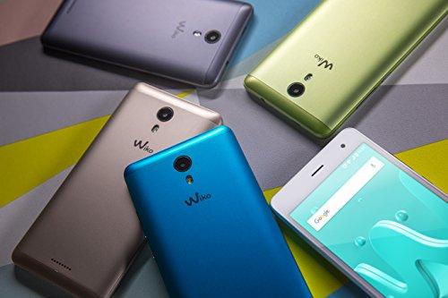 Wiko Jerry2 - Smartphone de 5  IPS  Dual SIM  16 GB de Memoria Interna Ampliable con Micro SD en 64 GB M  s  1 GB de RAM  C  maras 5 MP  Quad Core  An