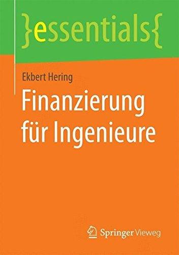 Finanzierung f??r Ingenieure (essentials) by Ekbert Hering (2014-12-15)