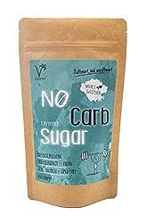NØ CARB SUGAR | natürlicher Zuckerersatz Erythrit ohne Kalorien | Zahnfreundlich, aus Frankreich im Papierbeutel (1 x 200g)