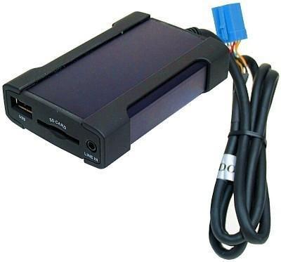 G.M. Production -Interfaz Xcarlink USB SD para archivos MP3 y WMA, con...