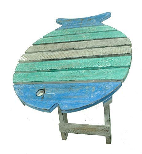 terrapin trading Treibholz-Seefisch-Strand-Seefalten-Reise-Kleiner Heller Tabellen-Stuhl