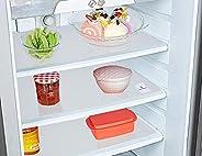 Kuber Industries 3 Pieces PVC Refrigerator/Fridge Multipurpose Drawer Mat Set(White), 48 x 33 x 1 cm