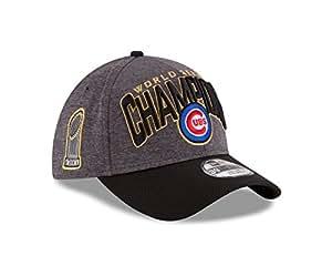 Chicago Cubs New Era 39THIRTY 2016 World Series Champions Men's Locker Room Hat Chapeau
