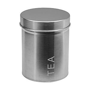 Boîte à thé en acier inoxydable
