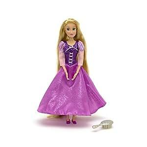 Rapunzel Glitter Doll