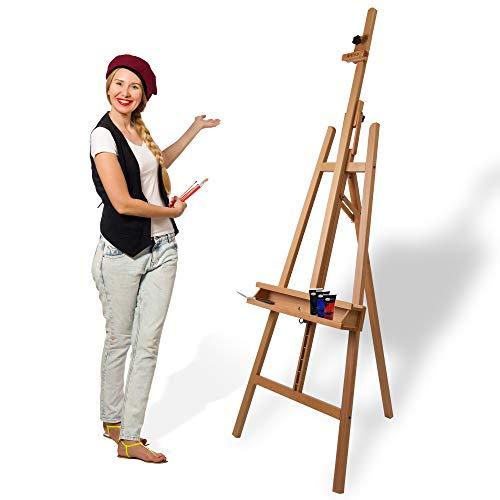 Artina Leinwand Staffelei Holz groß