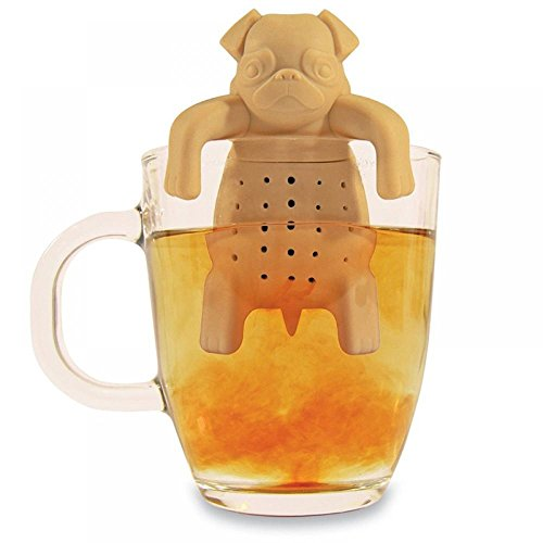 MAXGOODS Diseño Lindo Infusionador/Filtro/Colador para Té Tomar Tea (Beige)